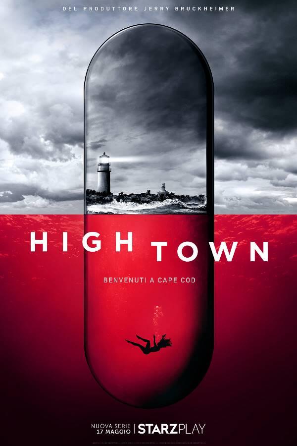 Il poster della serie tv Hightown su Starzplay