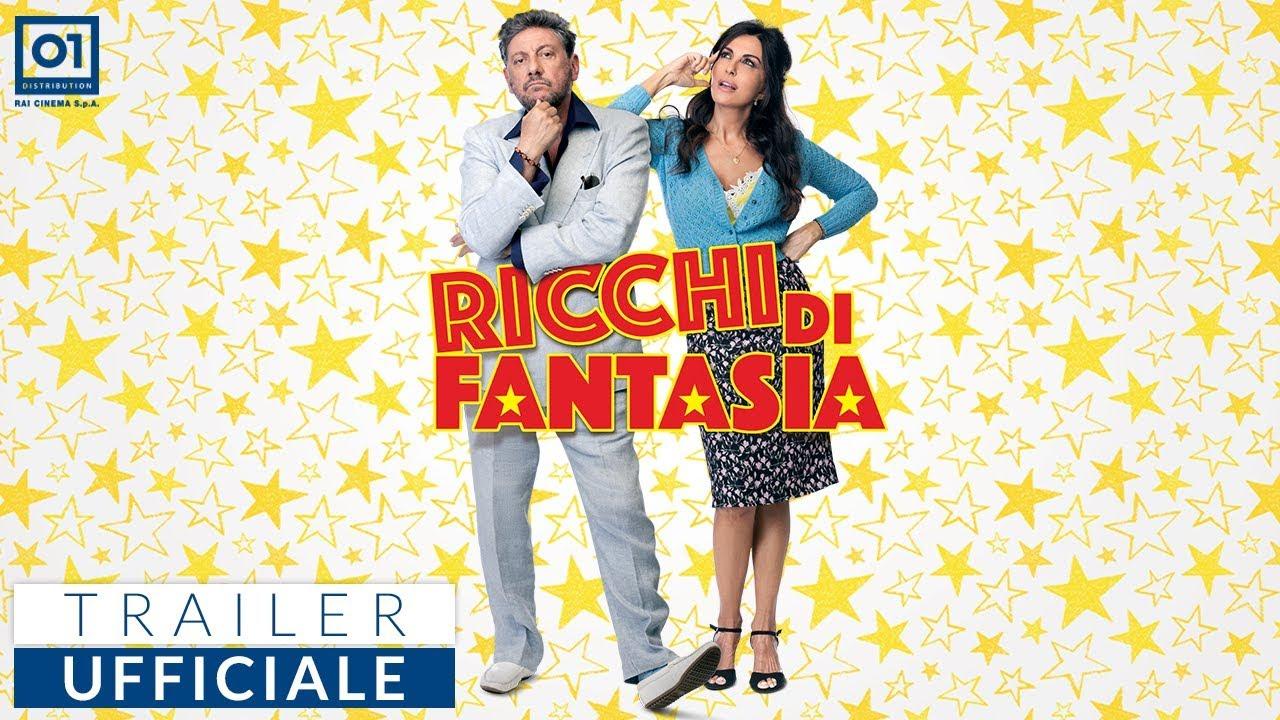 Ricchi di Fantasia, la trama e il trailer del film in onda s