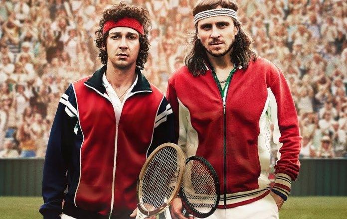Borg McEnroe, il film sui due tennisti in onda domenica 5 ap