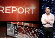 Ascolti Tv lunedì 10 maggio Report Rai 3