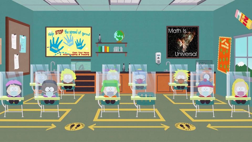 South Park lo speciale da pandemia il 1 ottobre su Comedy Central in contemporanea USA