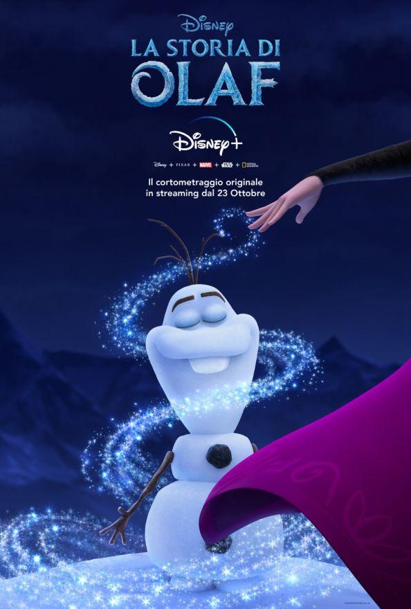 La storia di Olaf, il poster