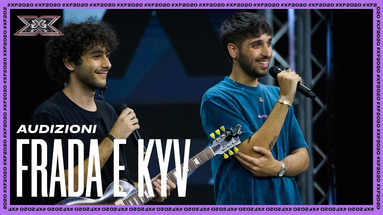 "X Factor 2020 audition #2: Frada e Kyv cantano ""Felpa Blu"" e ""Merchandise"" inediti (VIDEO)"