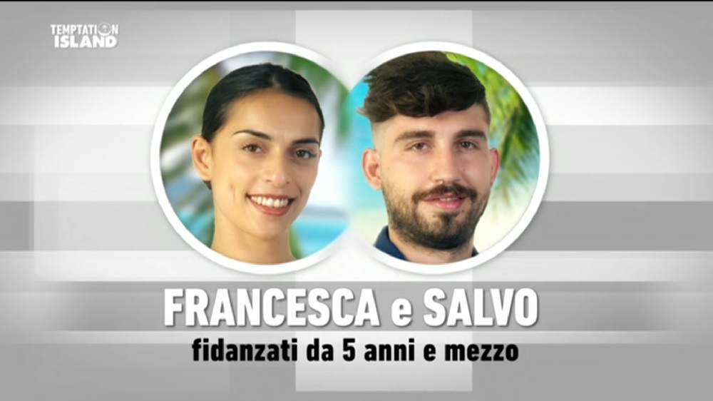 Temptation Island 2020 Salvo e Francesca è la nuova coppia (video)