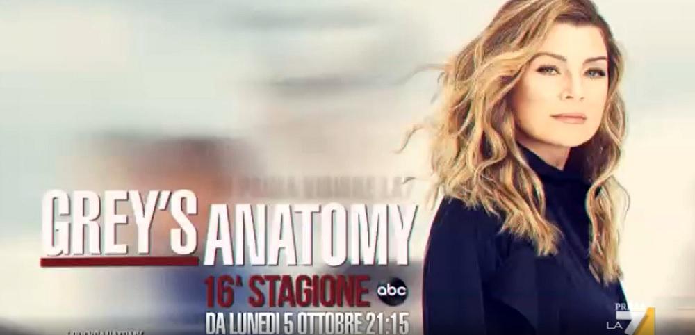 Grey's Anatomy 16 su La7 stasera la puntata dell'addio di Karev    lunedì 23 novembre