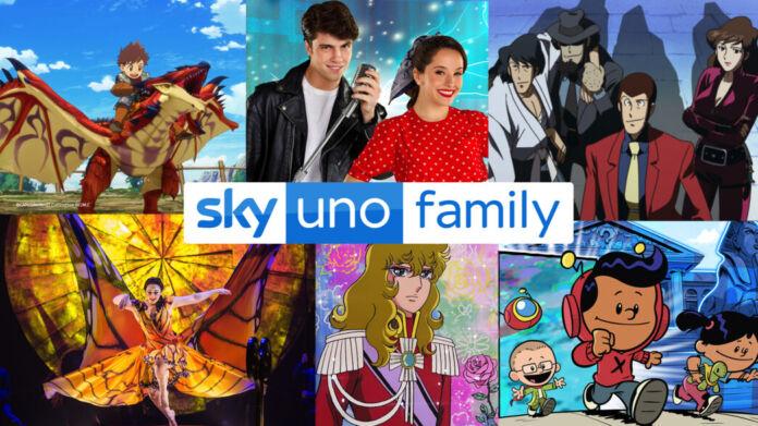 sky uno family