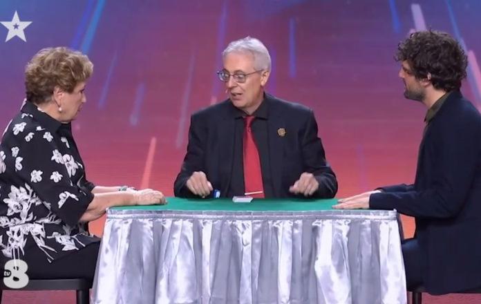 Italia's Got Talent 2021 Il mago Gianfranco Preverino e la storia del Re e del suo servo (VIDEO)