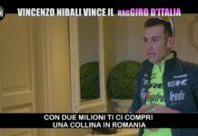 Le Iene scherzo Nibali