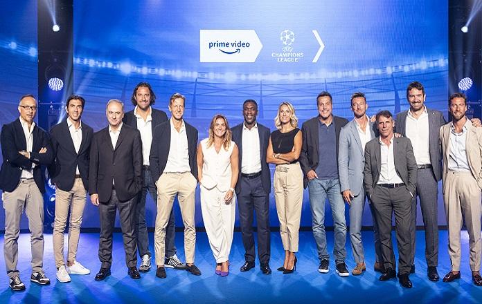 Amazon la squadra per la Champions LEague