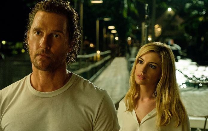 Ascolti Tv venerdì 27 agosto screen dal film serenity - l'isola dell'inganno