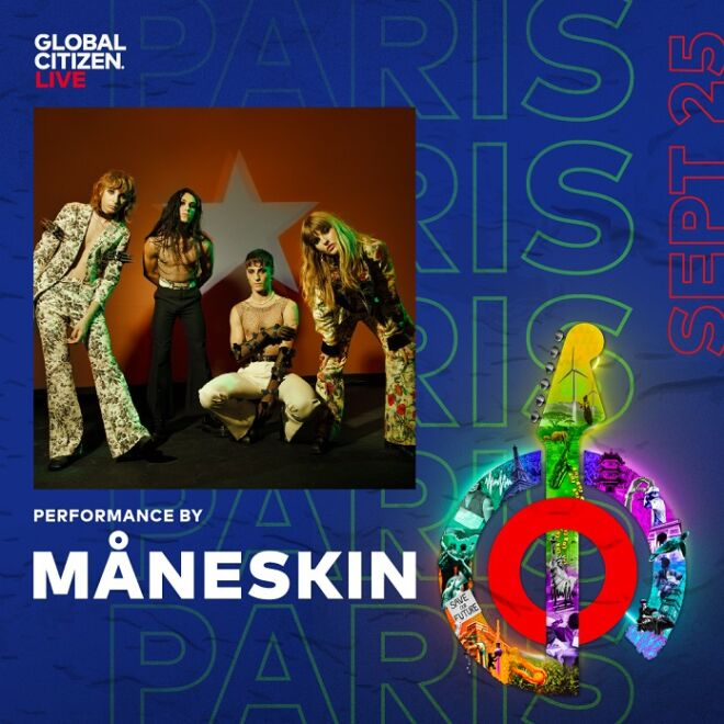 Global Citizen Maneskin
