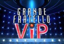 Guida tv lunedì 4 ottobre 2021 Grande Fratello Vip Logo