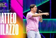 Matteo Milazzo a X Factor