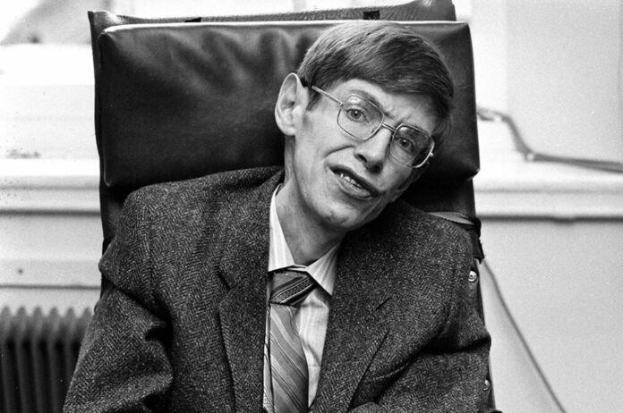 ritratto di Stephen Hawking