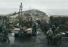 Una scena del film La battaglia dimenticata