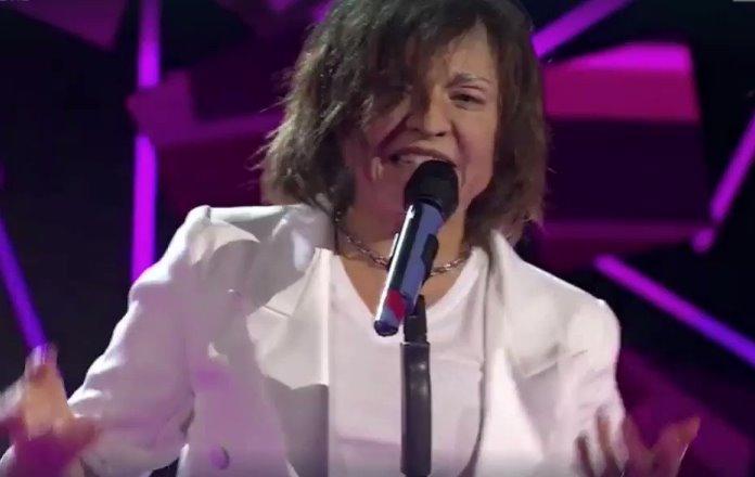 Francesca Alotta ieri a Tale e Quale show