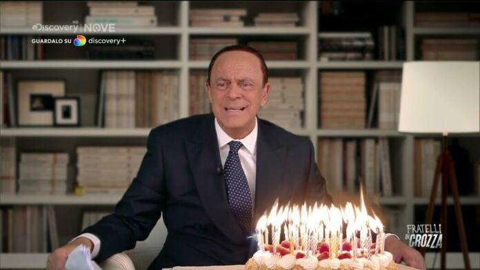 Crozza Berlusconi a Fratelli di Crozza ieri